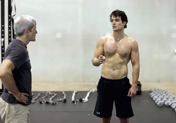 Day 295  Building a man of steelHenry Cavill Abs Man Of Steel